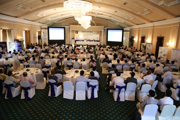 Delegates attending the conference